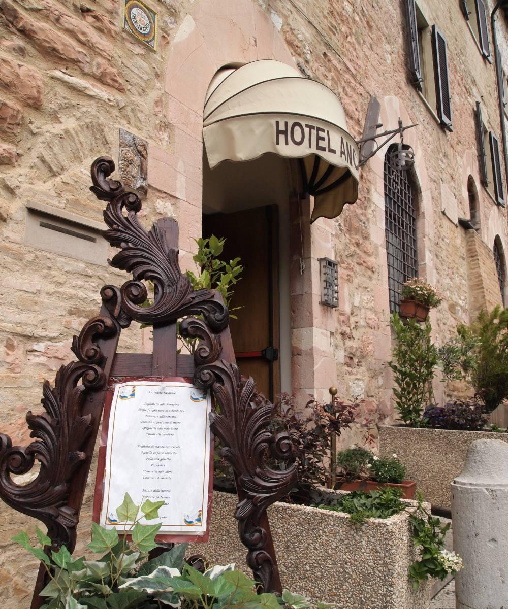 Hotel Ancajani Assisi - Ingresso