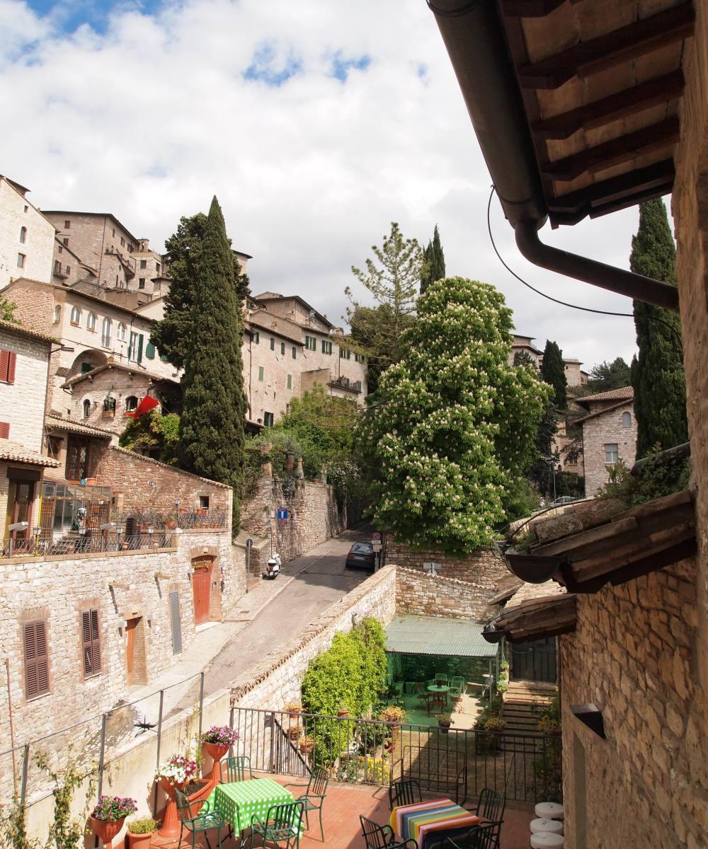 Hotel Ancajani Assisi - Terrazzo